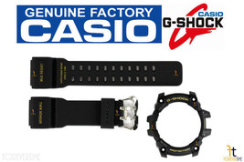 CASIO G-Shock MUDMASTER GG-1000GB-1A BLACK Rubber Watch BAND & BEZEL Combo - $88.45