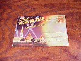 1949 California World's Fair on San Francisco Bay Postcard Strip, D-5928... - $7.95