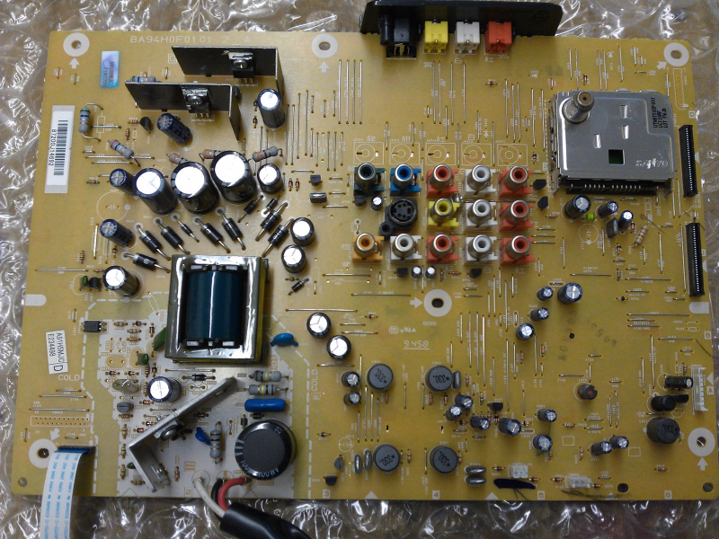 A91H9MJC A91H5MJC Jack Power Board From Philips 42PFL3704D/F7 LCD TV