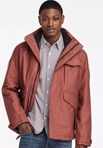 TIMBERLAND MEN'S RAGGED MOUNTAIN 3-IN-1 WATERPROOF FIELD JACKET A1RXK SZ:M - $145.12
