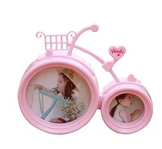 6-inch 3-inch Bike Combination Frame Child Creative Photo Frame Pictures Frame image 2