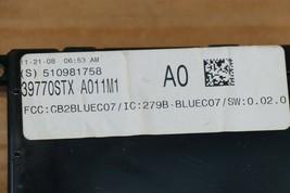 07 08 09 ACURA MDX Bluetooth Communication Control Module Link 39770-STX-A011M1 image 2