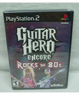 GUITAR HERO ENCORE: Rocks the 80s Sony PlayStation 2 PS2 VIDEO GAME BRAN... - $19.80