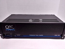 QSC Audio USA 370 Professional Power Amplifier Tested - $99.99