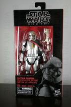 "Captain Phasma Quicksilver Baton Star Wars 6"" Black Series Disney Store Exclusive - $27.99"