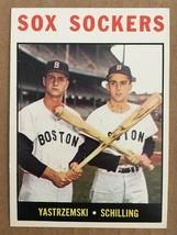 1964 Topps #182 Sox Sockers Baseball Card NM/M Condition CARL YASTRZEMSK... - $24.99