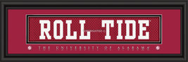 University of Alabama Officially Licensed Stitched Jersey Framed Print-3 Designs - $33.96