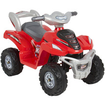 Quad Battery Power Wheels Motor Electric Vehicle Kids Toy Bicycle Ride O... - $154.59