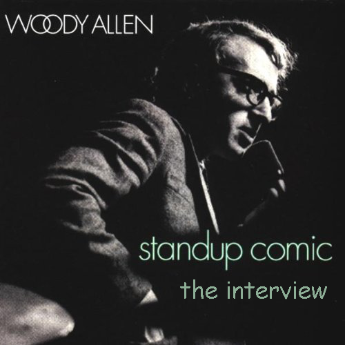 Woody allen  stand up comic  the interview cd  with text added