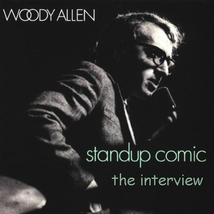 Woody Allen : Stand Up Comic Interview CD Woody Allen on Stand Up Comedy RARE OP image 1