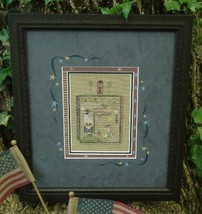 Waves patriotic cross stitch kit Shepherd's Bush - $24.00