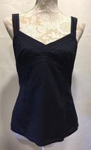 Ann Taylor LOFT Women Casual Career Cotton Sleeveless Top Blouse Size 8  - $12.99