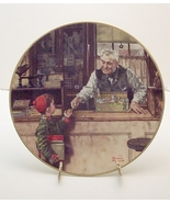 Back to School-Norman Rockwell Plate - $29.99