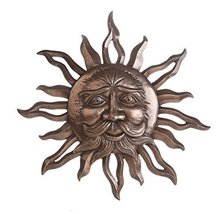 Sun God Belenos Cast Bronze Wall Plaque 15 Inch Decorative Mythology Scu... - $49.49