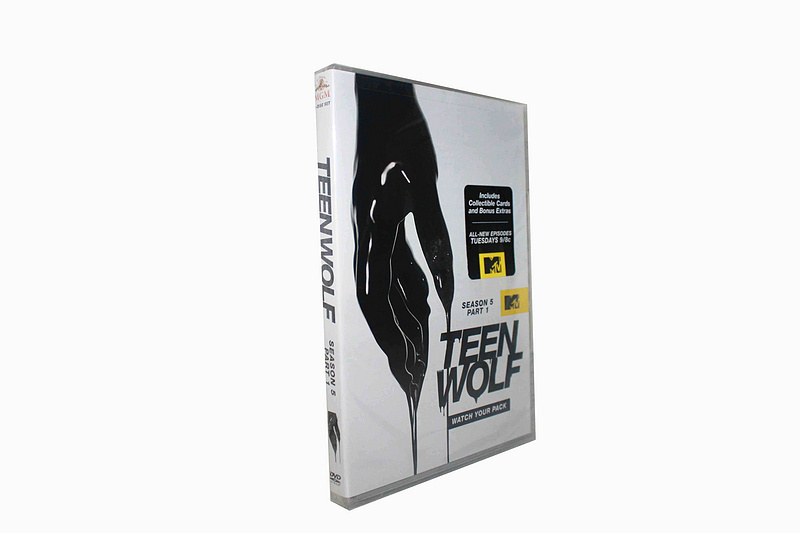 Teen Wolf The Complete Fifth Season 5 DVD Box Set 6 Disc Part 1 &2 Free Shipping