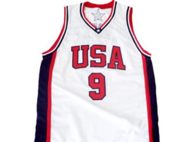 Vince Carter #9 Team USA BasketBall Jersey White Any Size
