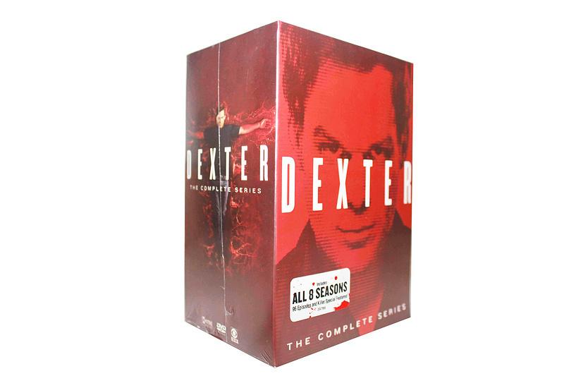 Dexter The Complete Series Seasons 1-8 DVD 32 Dsic Box Set Free Shipping