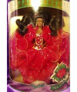 Mattel Barbie 1993 Happy Holidays African American Barbie Doll: Special ... - $44.53