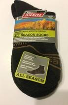 Dickies Men Socks Shoe Size 6-12 Merino Wool Medium Weight Quarter All S... - $10.99