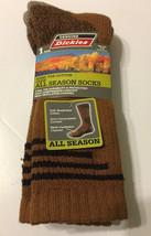 1-Pair Dickies Men Crew Socks Shoe Size 6-12 Steel Toe Cotton - $11.99