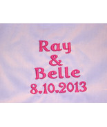 PERSONALIZED BOXERS GROOM WHITE WEDDING GIFT Cotton/Poly SIZE 34-36 HIGH... - $15.99