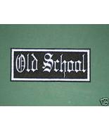 BIKER OLD SCHOOL PATCH DESIGN YOUR OWN CHOOSE COLORS Background + Font 4... - $5.99