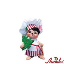 """Annalee 6"""" Shimmermint Chef Mouse Figurine"""