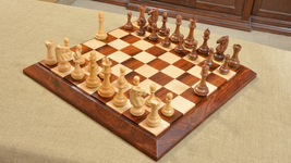 Premium Club Triple Weighted Chess Pieces & Board Combo in Sheesham Wood- M0024 - $553.98
