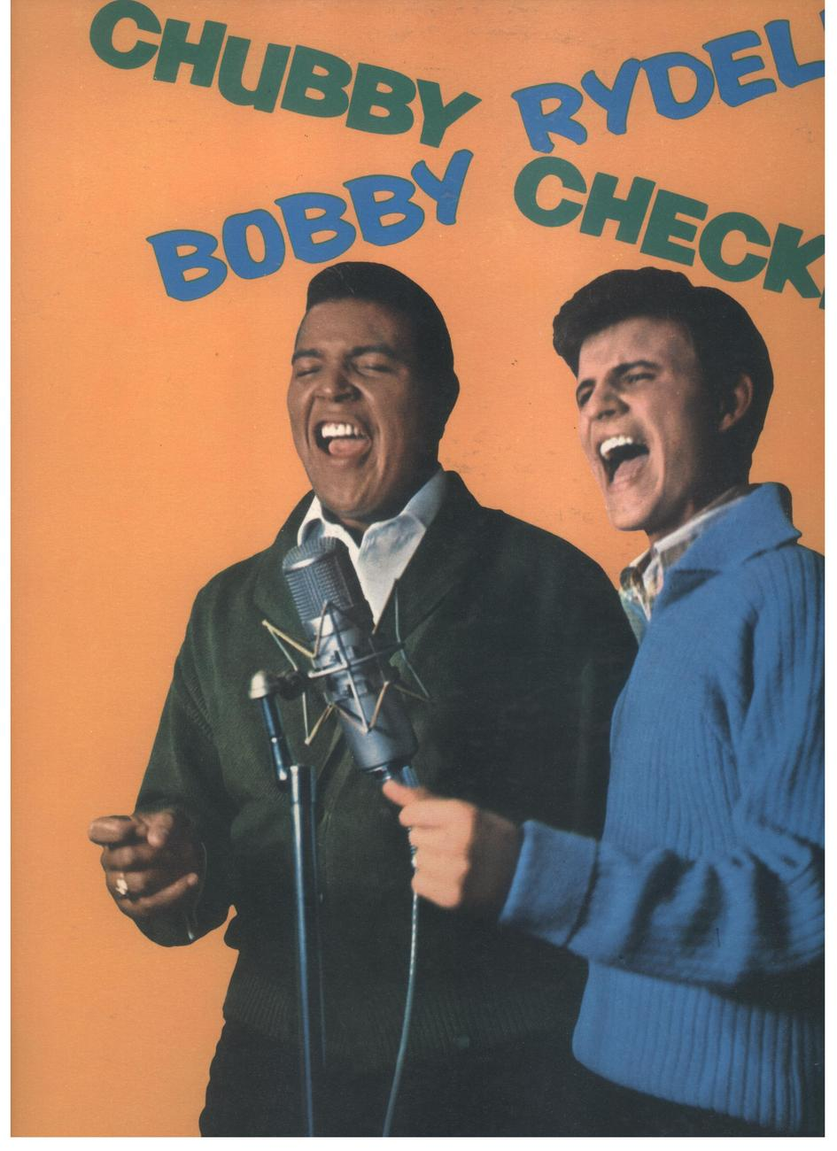Chubby Checker & Bobby Rydell LP Cameo Records #C 1013