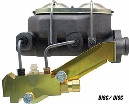 """A-Team Performance Universal Master Cylinder 1-1/8"""" Bore and Disc/Disc Proportio"""
