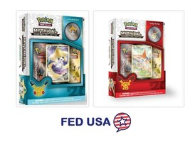 POKEMON Mythical Victini + Jirachi Mythical Collection Pin Box Generatio... - $30.50