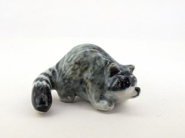 Hand Painted Miniature Collectible Ceramic Racc... - $2.97