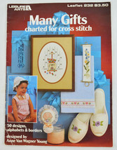 Counted Cross Stitch  - Many Gifts - 50 Designs, Alphabets -  Leisure Ar... - $1.99