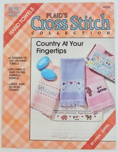 Counted Cross Stitch  - Plaid's Country At Your Fingertips Towels -  6 D... - $1.99