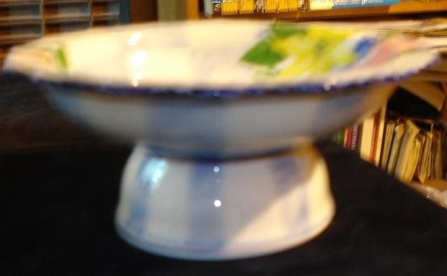 "Andrea by Sadek Porcelain Pedestal Compote Beautiful 6"""