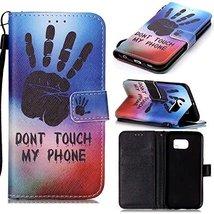 Galaxy S6 Case,Galaxy S6 Wallet Case,XYX [Big palm][Wrist Strap][Kicksta... - $3.95