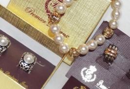 PREMIER DESIGNS Jewelry LOT of 3 ~ 2 EARRINGS & BRACELET Aspen Genie - $18.69