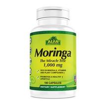 Moringa Oleifera Leaf Extract Supplement By Alfa Vitamins - 100% Natural - $20.79