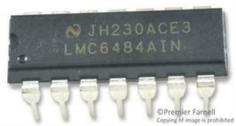 10X Texas Instruments Lmc6484Ain/Nopb Ic, Op-Amp, 1.5Mhz, 1.3V/ Us, Dip-14 - $22.76