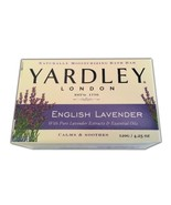 Yardley of London English Lavender Bar Soap Bath Calm Essential Oils 2 P... - $12.65
