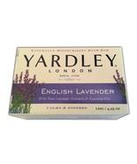 Yardley of London English Lavender Bar Soap Bath Calm Essential Oils 2 P... - $12.65