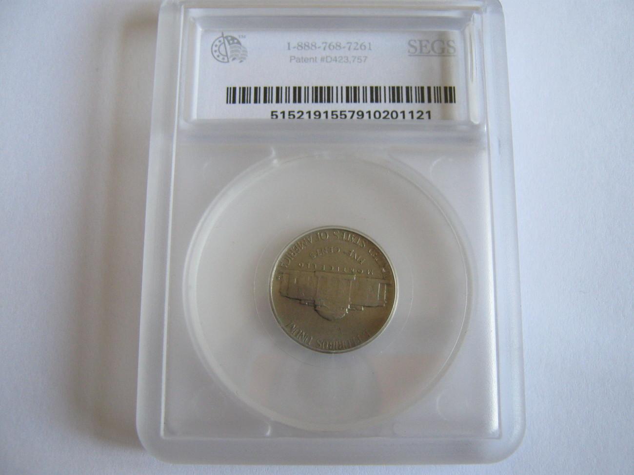 Jefferson Nickel , Lot of 2 , SEGS Certified