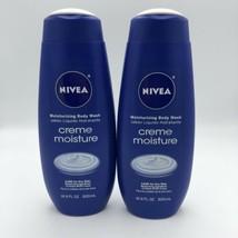 2 x Nivea 16.9 Oz Creme Moisture Moisturizing Body Wash - $18.80
