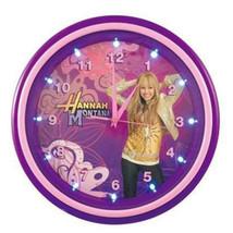 KNG 001732 Hannah Montana LED Clock - $30.06