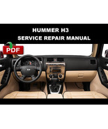 HUMMER H3 2006 2007 2008 2008 2010 OFFICIAL FACTORY SERVICE REPAIR MANUAL - $14.95