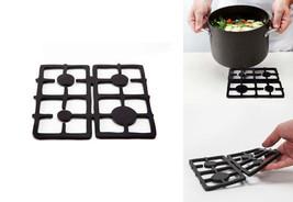 Home Kitchen Racks Original Design Hot Pot Trivet Wood Silicon Cookware - $22.63