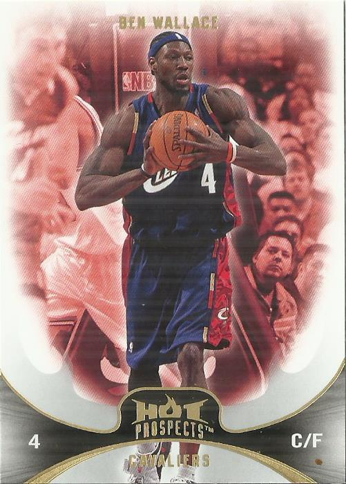 Primary image for 2008-09 Hot Prospects #82 Ben Wallace