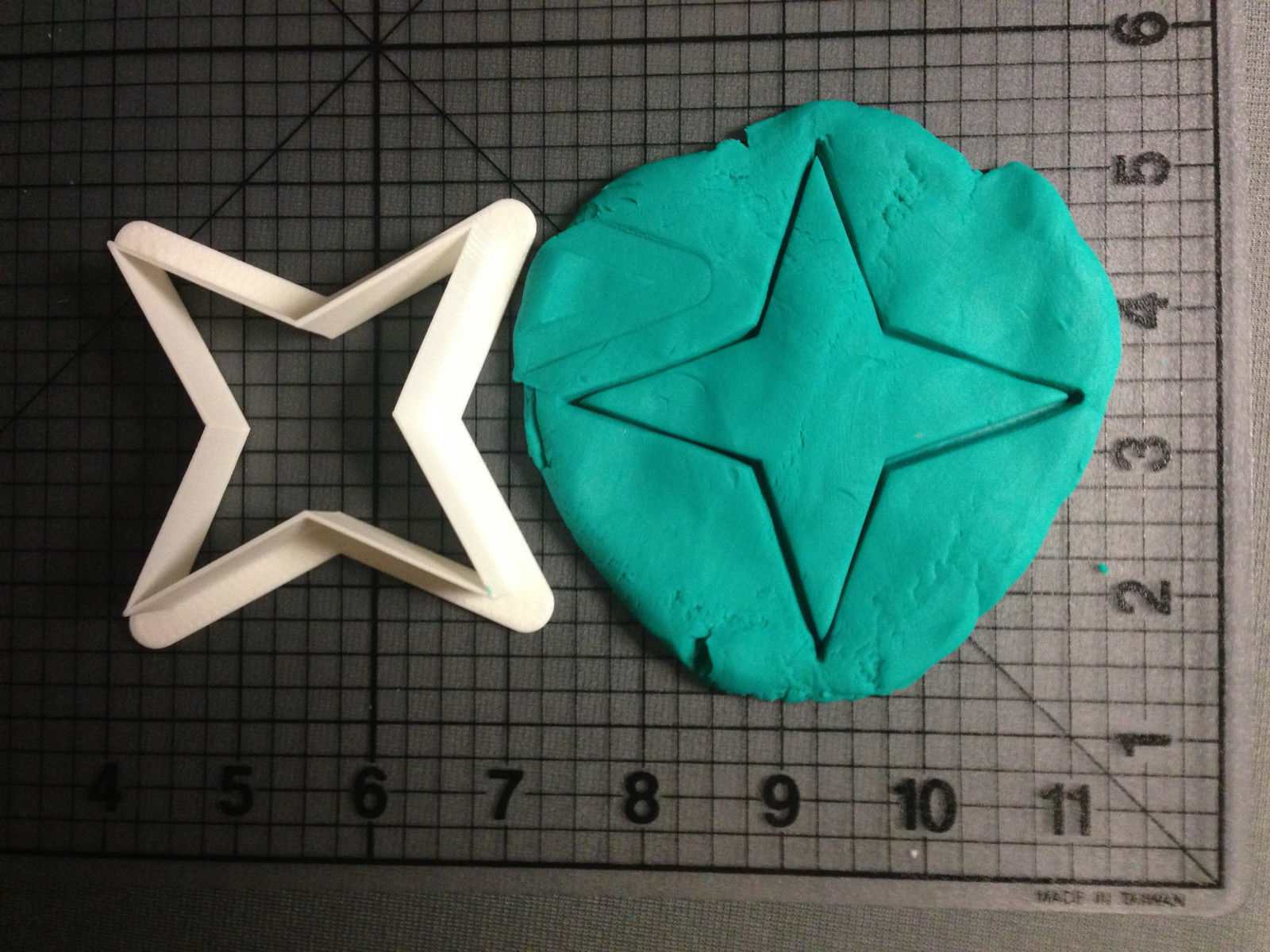Primary image for 4 Point Ninja Star Cookie Cutter