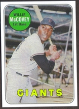 Willie Mc Covey Card Rp #440 Giants 1969 T Free Shipping - $2.95