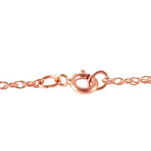 """14K Solid Rose gold fine Key Charm Necklace 16-24"""" w Peridot - $199.61+"""
